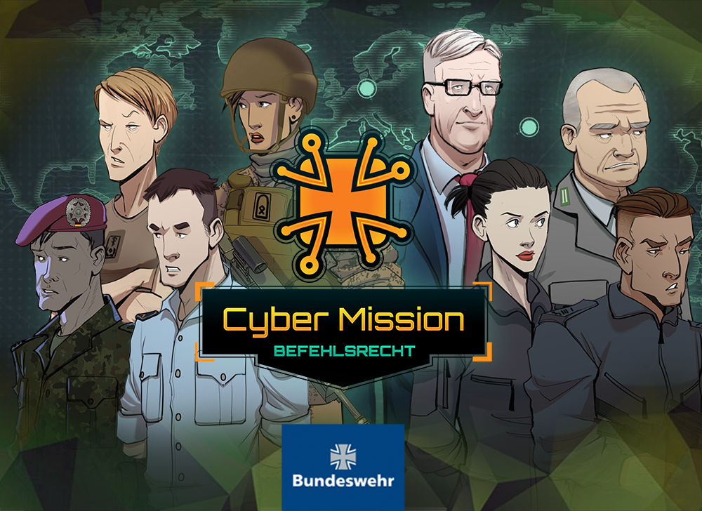 Cyber Mission Bundeswehr game-based learning